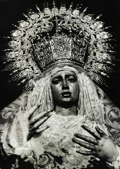 Virgen de la Amargura. Sevilla, Spain.