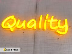 Quality Led Neon sign Shop Signage, Retail Signage, Neon Sign Shop, Sign Board Design, Exterior Signage, Neon Design, Led Neon Signs, Shop Plans, Store Signs