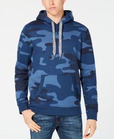 81fbb398c1cd2 American Rag Men's Camo Hoodie, Created for Macy's & Reviews - Hoodies &  Sweatshirts - Men - Macy's
