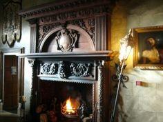 Firepace in Belleek Castle