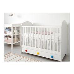GONATT Cot, white - white - IKEA