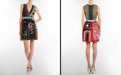 Branded Clothes: Print Dress for Women as D