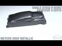 Meteor Gray Metallic Single Stage & Basecoat Paint - Eastwood - YouTube