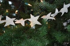 DIY Star garland decoration - Elise