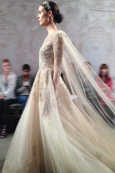 Monique Lhuillier // New York Bridal Market // Autumn 2015