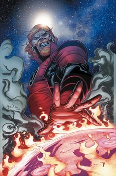 RED LANTERNS #40 Written by LANDRY Q. WALKER Art by J. CALAFIORE Cover by SCOTT HEPBURN On sale MARCH 25 • 32 pg, FC, $2.99 US • RATED T+ • FINAL ISSUE In this final RED LANTERNS issue, Guy Gardner begins to understand what being the Red Lantern of Earth really means. Will he succumb to rage once and for all, or can the former hero still find another path?