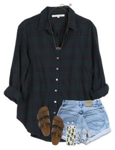 """""""I wanna sleep till noon, maN, school got me up 6 hours before noon"""" by twaayy ❤ liked on Polyvore featuring Xirena, Birkenstock, Kendra Scott, Casetify and LULUS"""