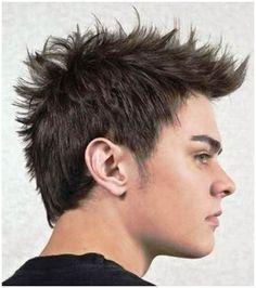 spikey men medium hairstyles 2014