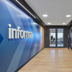 Dubbeldam Architecture + Design completed the office design for publishing company, Informa, located in Toronto, Canada. Informa Canada produces and Interior Design Shows, Office Interior Design, Office Interiors, Corporate Interiors, Office Designs, Facade Design, Wall Design, Architecture Design, Chinese Architecture