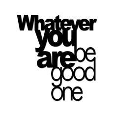 https://styl-sklep.pl/napis-na-sciane-whatever-you-are-be-good-one-czarny,562,13253.html