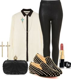 """""""Christian Louboutin pt 2"""" by feathersandroses ❤ liked on Polyvore"""