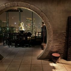 Hutong restaurant - Kowloon, Hong Kong