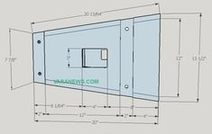 Skema Box Line Array 10 inch + tweeter | Varanews.com Speaker Plans, Speaker Box Design, Subwoofer Box, Loudspeaker, Line, How To Plan, Android, Klipsch Speakers, Box Design