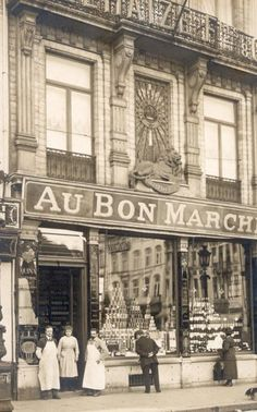 Charleroi -  Place du sud (1904 - 1905) The last year my grandparents lived in Charleroi.