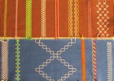 Perinteistä vohvelikanagasta käytössä Beaded Embroidery, Needlework, Upcycle, Projects To Try, Beads, Sewing, Crafts, Diy, Jewelry