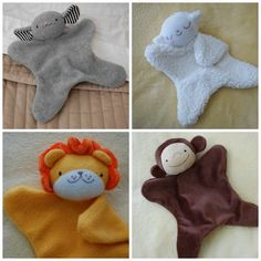 Not Free, But I like the idea New Pattern: Lovey Dovey Mouse, Lamb, Lion, and Monkey Sewing Stuffed Animals, Stuffed Toys Patterns, Baby Sewing Projects, Sewing For Kids, Sewing Toys, Sewing Crafts, Baby Patterns, Sewing Patterns, Animal Patterns