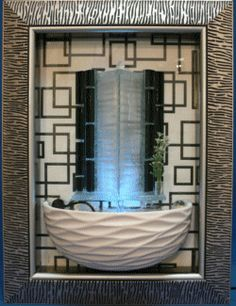 Water Fountain in picture frame