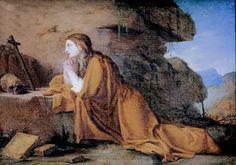 Eustache Le Sueur. 1617-1665. Paris. Madeleine en prière. Lille