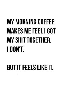 Kellie Winnell – Famous Last Words Coffee Is Life, I Love Coffee, Coffee Coffee, Coffee Americano, Coffee Quotes Funny, Morning Coffee Quotes, Morning Humor Quotes, Coffee Shop Quotes, Coffee Jokes