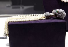 One of Elizabeth Taylor's many jewels up for auction at Christie's.