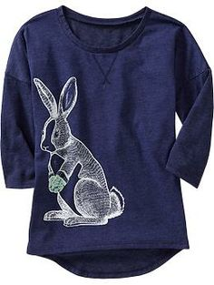 Girls Accessorized-Animal Graphic Tees | Old Navy