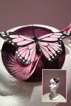 Tocado mariposa
