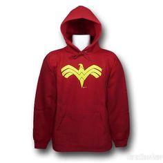 Images of Wonder Woman Red Eagle Hoodie
