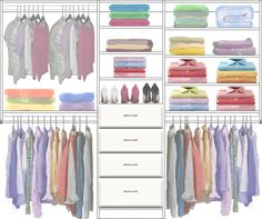 Adult Closet Design 5 made with the CCDS FREE On-Line Image Design system