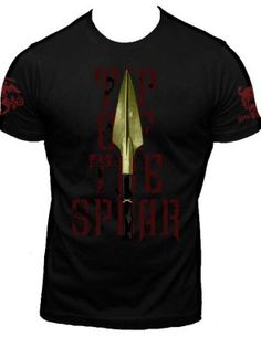 """Tip of the Spear"" USMC Spartan Shirt"