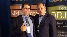 Con Hugo Serantes. Ex-seleccionador Nacional de Rugby de la Selección Absoluta de España. 22 Octubre 2015