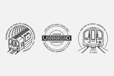 NB Studio – Royal Mail 150 Years of London Underground