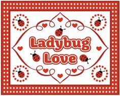 Ladybug Party Printables Free   And here are some of my favorite individual files...