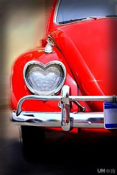 Heart-shaped headlight. #car #heart #red #ferrari #love #headlight #details #beautiful #design #designers #car #cars #oldtimer #stylish #classy #unique #movement #movein #movearound #moveover #transport #transporation #sightseeining #citylife #cityguide #moveintheicity