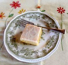 Coffee Cake Friday: Lemon Buttermilk Snack Cake, Gluten-Free
