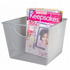 Find wire baskets and bins to organize a home or office. We offer an array of mesh and wire storage baskets, and more wire organizers at Organize It.