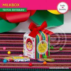 Frida - Todo Bonito Frozen, Birthday, Paper, Mexican Fiesta Party, Themed Parties, Invitations, Crates, Birthdays, Frozen Movie