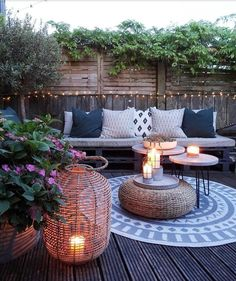 Some Great Suggestions for Springtime Patio Furniture – Outdoor Patio Decor Outdoor Rooms, Outdoor Gardens, Outdoor Living, Outdoor Decor, Backyard Patio Designs, Diy Patio, Patio Ideas, Budget Patio, Backyard Decks