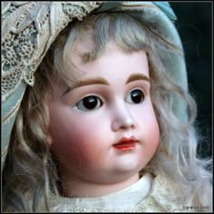 "16"" Wistful German Bisque Child \""A.T.\"" Kestner ~ All Antique"