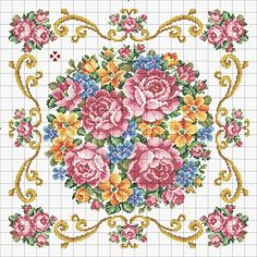 ~ Pin by Сross stitch techniques on Floral cross stitch Biscornu Cross Stitch, Cross Stitch Tree, Cross Stitch Books, Cross Stitch Needles, Cute Cross Stitch, Beaded Cross Stitch, Cross Stitch Flowers, Cross Stitch Charts, Cross Stitch Designs