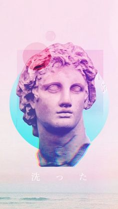 Graphic Design Illustration, Illustration Art, Crea Design, Vaporwave Wallpaper, Vaporwave Art, Hip Hop Art, Greek Art, Glitch Art, Arte Pop