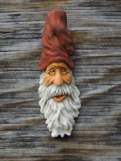Wood Spirit Carving HillBilly Ooak Hobbit Sorcerer Old Man Wizard Scott Longpre