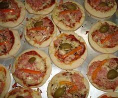 Receita de Mini pizza - Show de Receitas