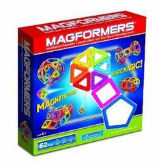 Amazon.com: Magformers 62 Piece Set: Toys & Games
