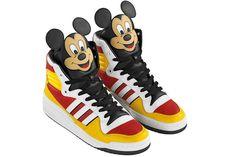 2a0b2ea1302 Jeremy Scott Mickey Mouse Shoes