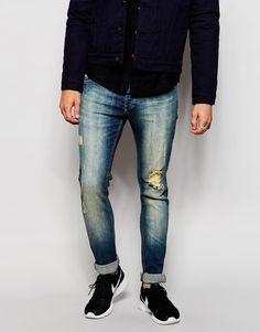 Jeans von Loyalty & Faith Stretch-Denim Reißverschluss Fünf-Taschen-Stil Used-Look enge Passform Maschinenwäsche 98% Baumwolle, 2% Elastan unser Model trägt 32 Zoll/ 81 cm Normalgröße und ist 185,5 cm/ 6 Fuß 1 Zoll groß