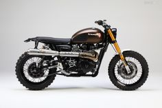 We've picked out our Top 5 Triumph Scrambler customs from recent years—and this beauty from LSL and JvB-Moto is one of them. Click through to see the others.