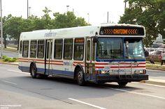 DC METRO ORION BUS