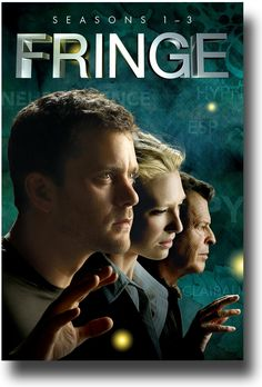 Fringe TV show poster. My latest Netflix obsession. Just sad the final season isn't on here yet.