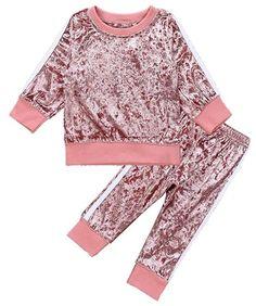 Sweatpants MYGBCPJS 2Pcs Kids Girls Tie Dye Sweatsuit Child Cotton Long Sleeve Outfits Set Sport Tracksuit Tops