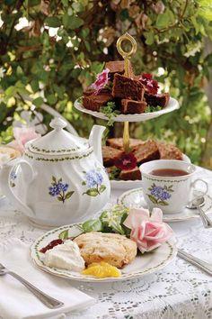 Afternoon tea &; leisure time…
